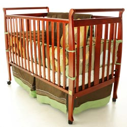 Bella 2-in-1 Convertible Sleigh Crib