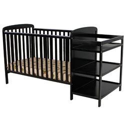2 in 1 Crib with Changer