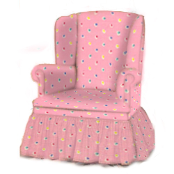 Dot to Dot Swivel Glider Rocker