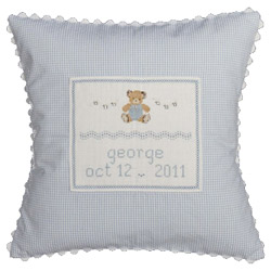 Teddy Bear Baby Pillow
