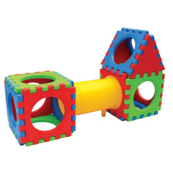 16 Piece Cube Play Center