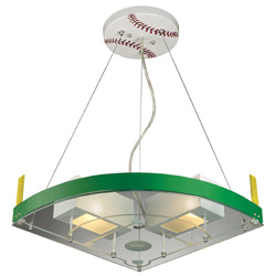 Baseball Field Pendant