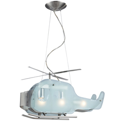 Helicopter 3-Light Pendant