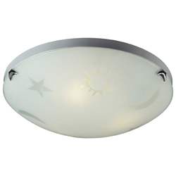 Night Sky 3-Light Flush Mount