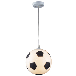 Soccer Ball Pendant Light