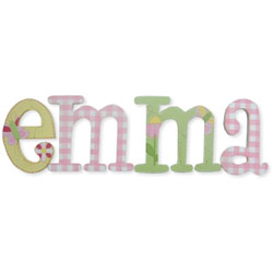 Emma Whimsical Style Letters