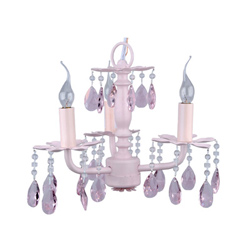 Lavender Love Chandelier