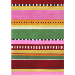 Stripes of Joy Rug