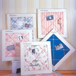 Fabric Memo Boards