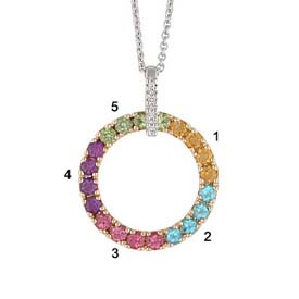 family circle pendant by lifetime mothers