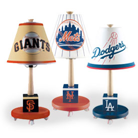 Major League Baseball Table Lamp