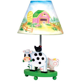 Little Farmhouse Table Lamp
