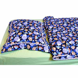 Glow in the Dark Outer Space Twin Bedding