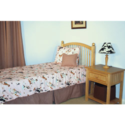 Rhinestone Cowgirl Twin Bedding Set