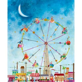 Ferris Wheel Stretched Art