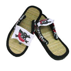 Designer Pirate Flip Flop