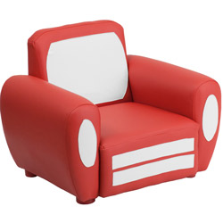Kids Red Car Chair