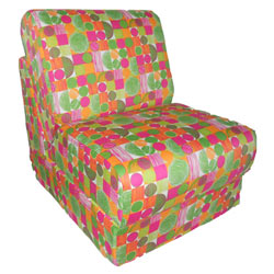 Organic Print Teen Chair Sleeper