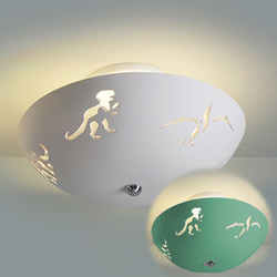Dreamy Dinosaurs Ceramic Ceiling Light