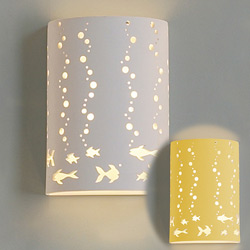 Fishy Bubbles Wall Sconce