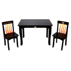Harley Davidson Avalon Flame Table & Chair Set