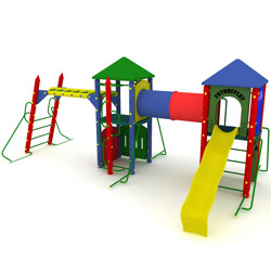 Fort Cumberland Playground Set