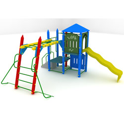 Fort Delaware Playground Set
