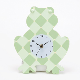 Frog Shaped Clock