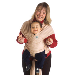 CuddlyWrap Organic Cotton Baby Carrier