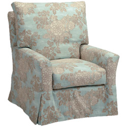 Kylee Topstitch Swivel Glider