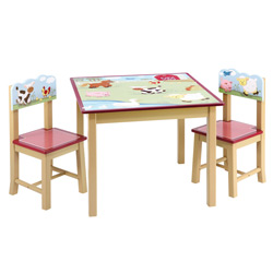 Farm Friends Table and Chair Set