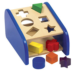 Hide 'n Seek Shape Sorter