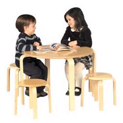 Nordic Table and Stool Set