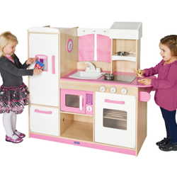 Pink Play Kitchen