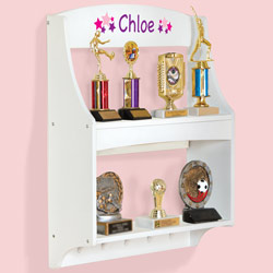 Personalized Expressions Trophy Rack