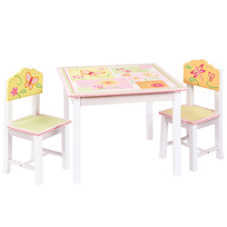 Gleeful Bugs Table and Chairs