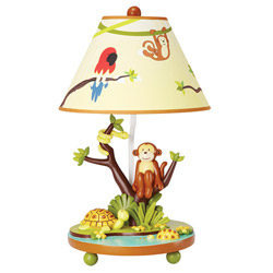 Jungle Party Table Lamp