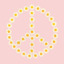 Peace Daisies Artwork
