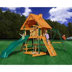 Overlook Deluxe Swing Set