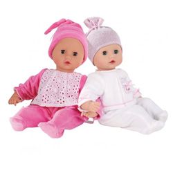 Cuddle Me Nap Time Twin Doll Set