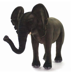 Ride-On Plush Elephant