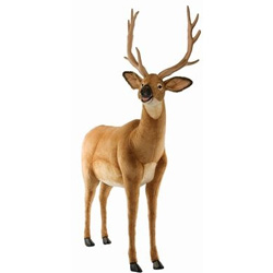 Ride-On Plush White Tail Deer