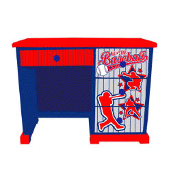 Baseball All Star Desk