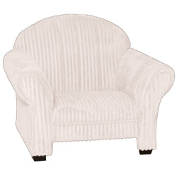 Classic Kids Cream Chenille Chair