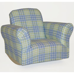 Standard Plaid Kids Rocker