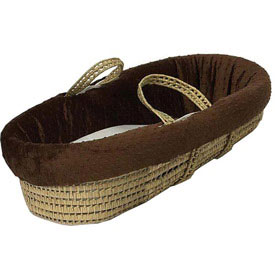 Heavenly Soft Moses Basket