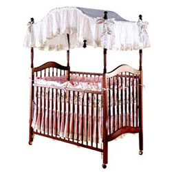 Heirloom Canopy Baby Crib