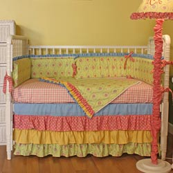Lil Rainbow Crib Bedding Set