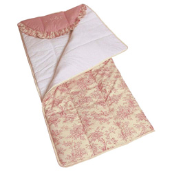 Pink Toile Sleeping Bag