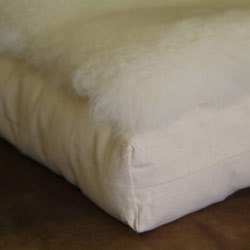 Organic Lamb Fleece Cradle Topper